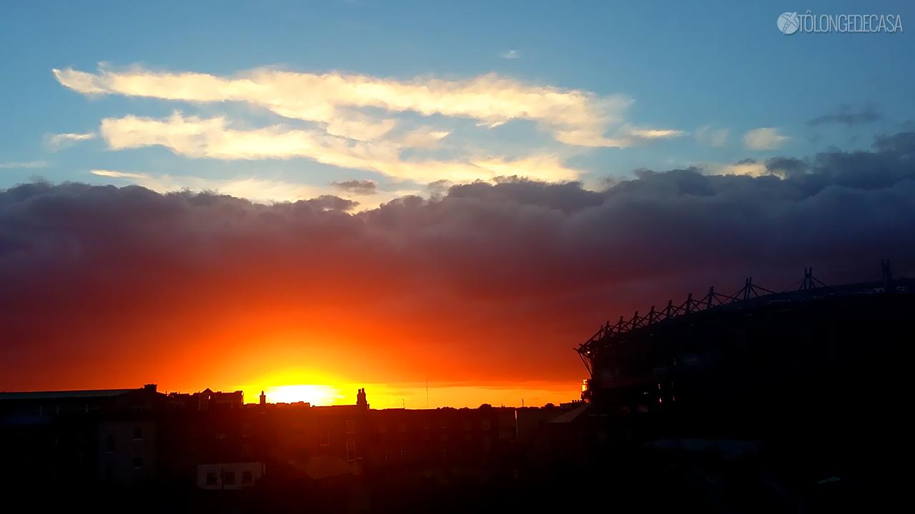 10 Pores do Sol de uma mesma janela na Irlanda (5)