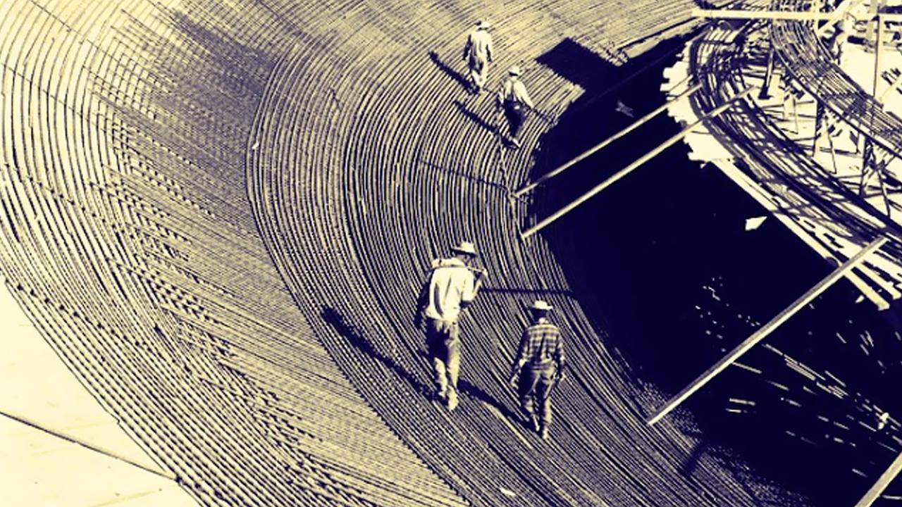 Brasília 53 anos Fotos da construção (2)