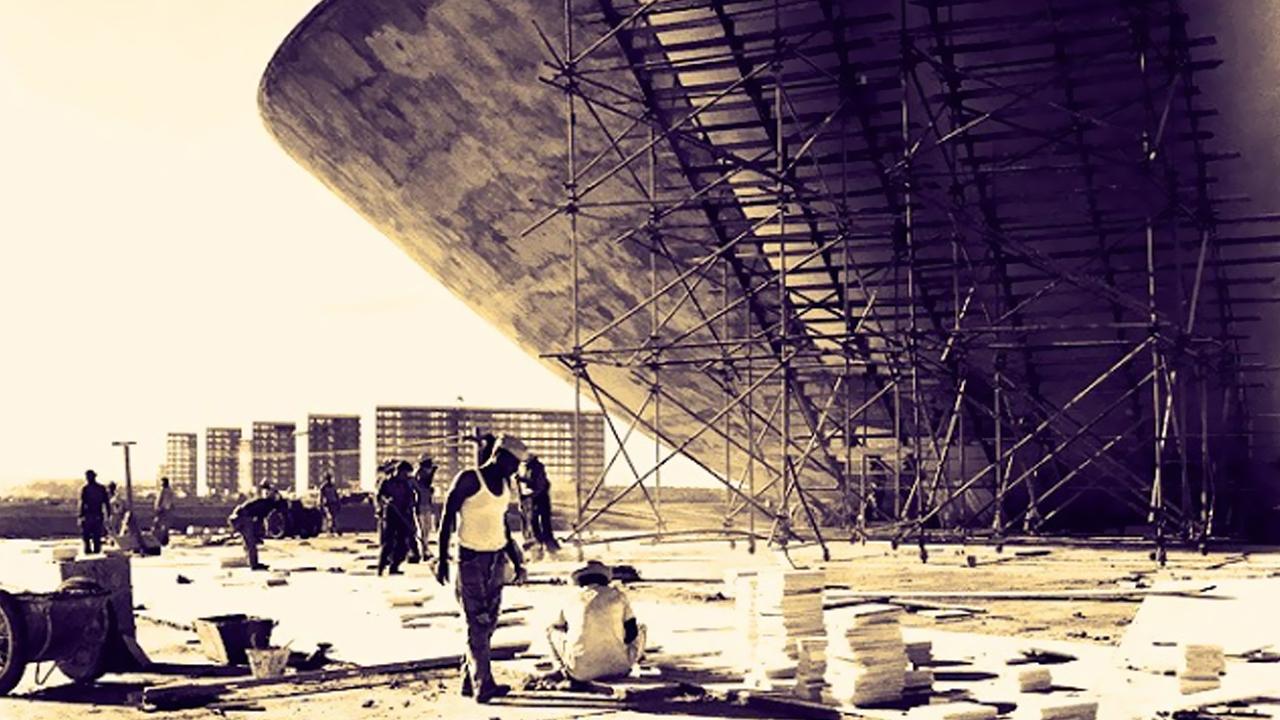 Brasília 53 anos Fotos da construção (3)