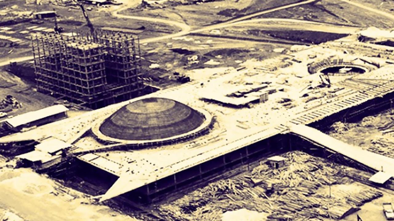 Brasília 53 anos Fotos da construção (5)