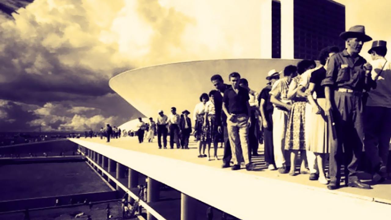 Brasília 53 anos Fotos da construção (8)