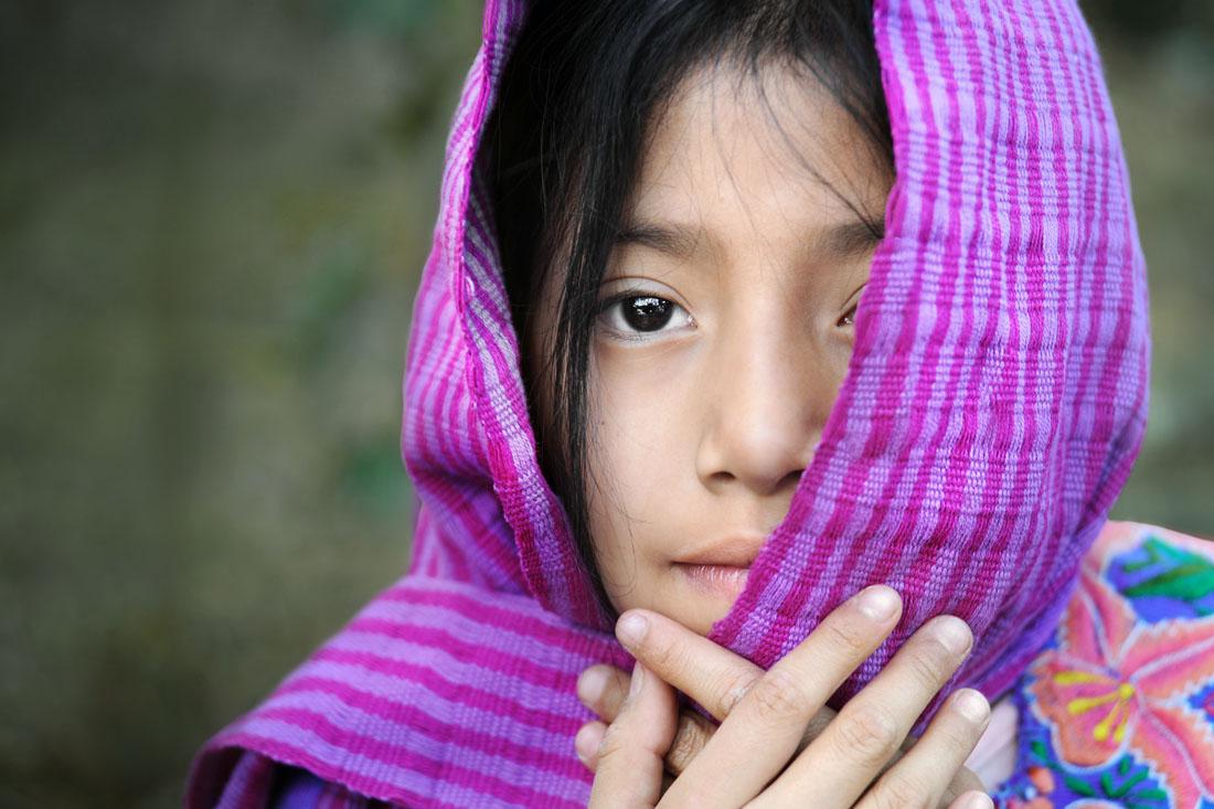 Garota da Guatemala